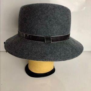 Womens Fedora Style Hat 100 Percent Taylor Wool
